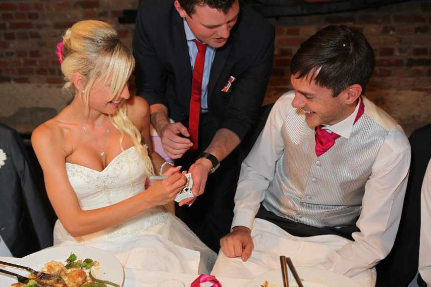 How Much Does Our Wedding Magician Cost On Average